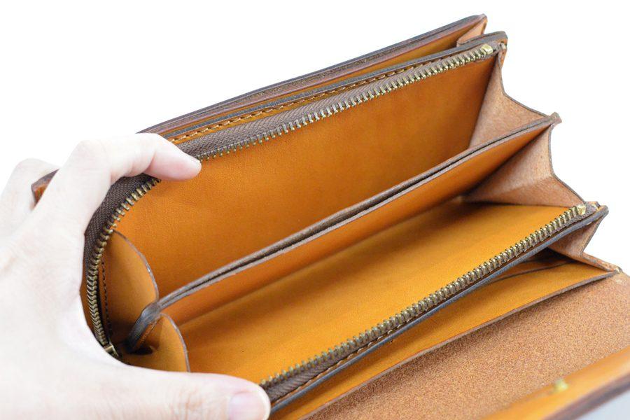 小銭が見やすいクラッチ財布(L5)