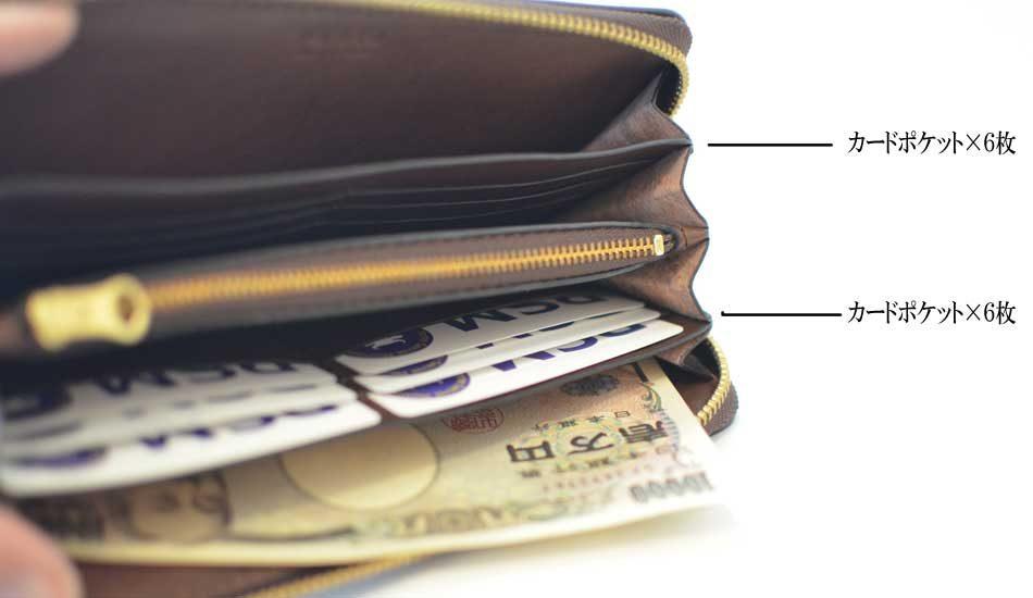 名称:ラウンドファスナー財布 型番:F1