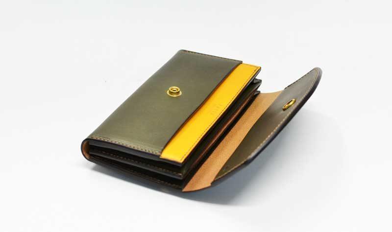 真鍮長財布