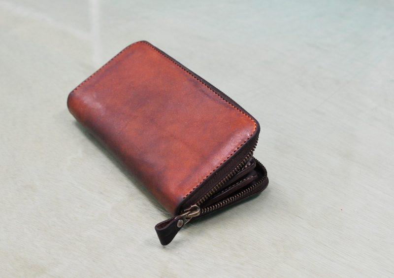 ヌメ革 財布