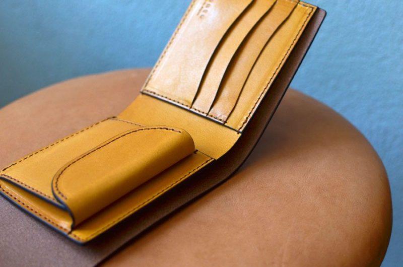 ホックショート財布