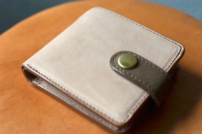 ヴィンテージレザー 二つ折り財布