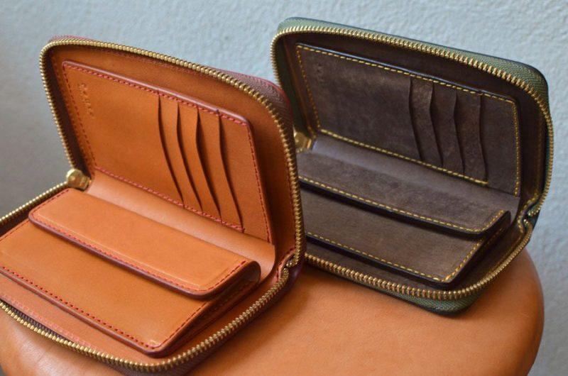 ファスナーミドル財布