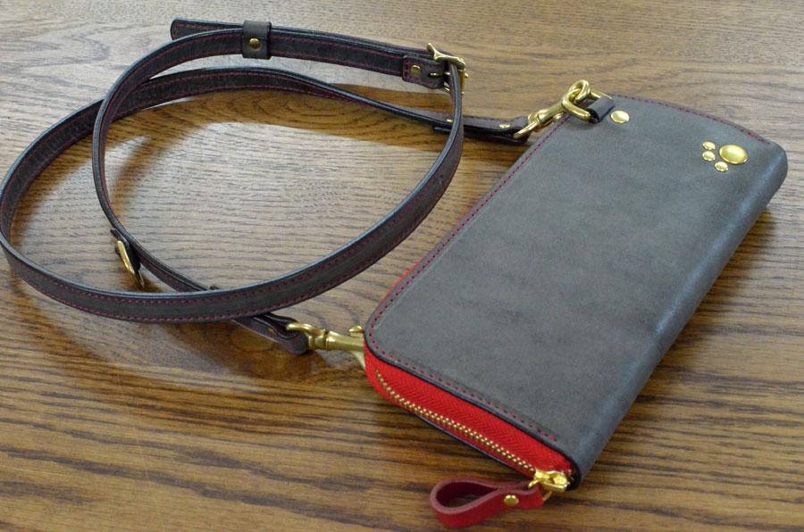 ポシェット型財布