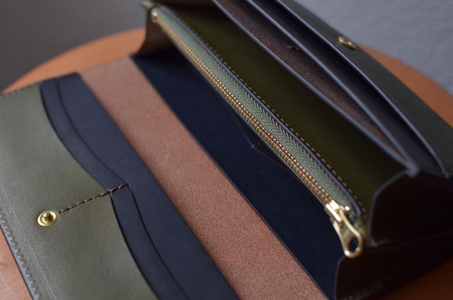 オーダーメイド 革製品 財布 クラッチ財布 Ponte