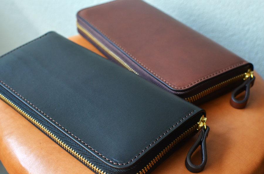 ペアラウンドファスナー財布