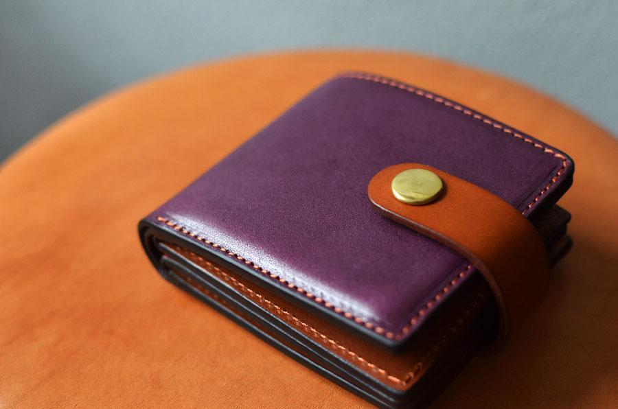 二つ折り財布 カード入れ