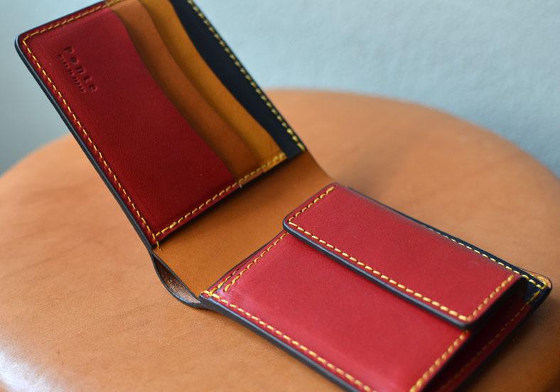 オーダーメイド 二つ折り財布