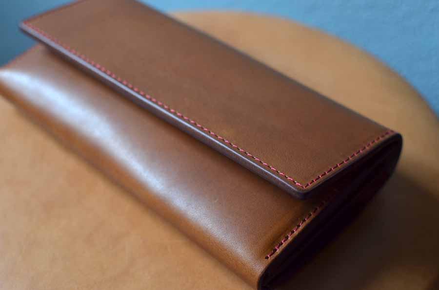 クラッチ財布 セミオーダーメイド 革 レザー