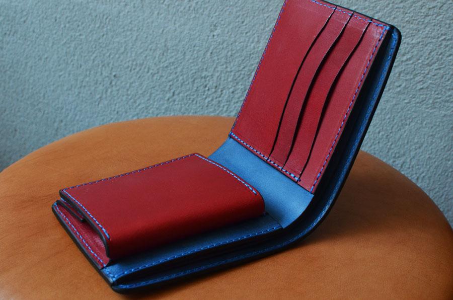 二つ折りBOX財布 セミオーダーメイド