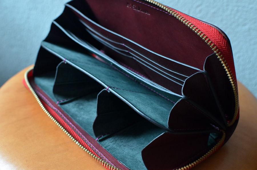 フルオーダーメイド ラウンドファスナー財布