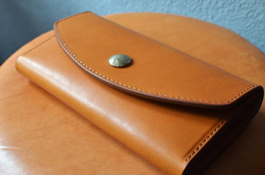 真鍮コンチョ長財布 セミオーダーメイド