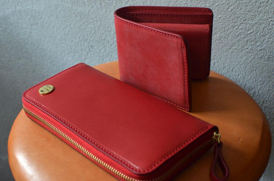 二つ折り財布 ファスナー財布 ペア財布