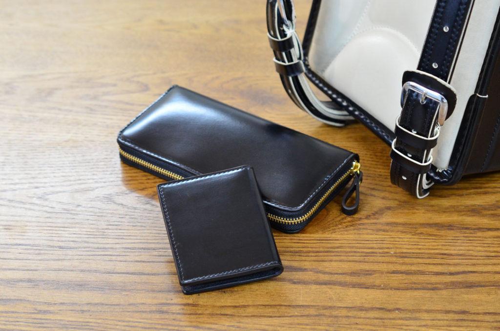 ランドセルをリメイクした財布