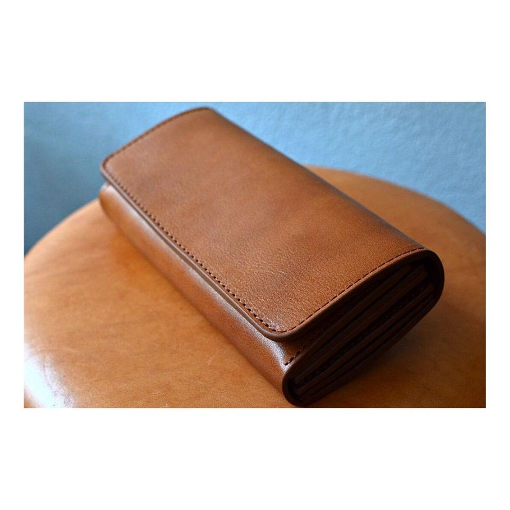 フルオーダーメイドで作製した財布